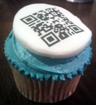 QR Cupcake